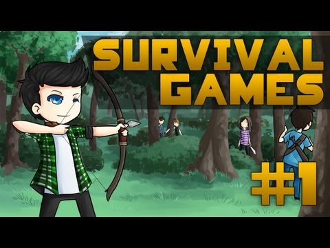 Survival Games #1 - (Bear) Blow Grylls!