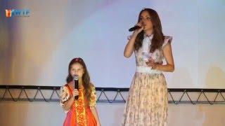 МакSим и дочь Саша - Дорога (10-летие Гимназии 1409, Москва, 04.03.16)