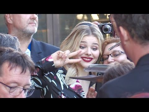 Chloe Moretz at the Miseducation of Cameron Post premiere 2018 Champs Elysees film festival in Paris