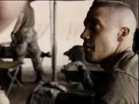 funny jarhead gas mask scene Video