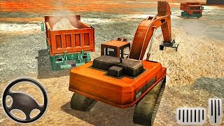 Sand Excavator Road Build - Construction Simulator - Android GamePlay