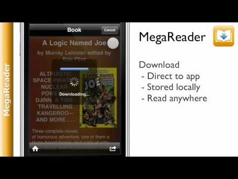 MegaReader eBook Reader - 1.9 million free books iPhone/iPod