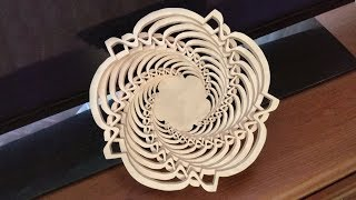 Cant stop making bowls (scroll saw project) - new fretwork bowl pattern