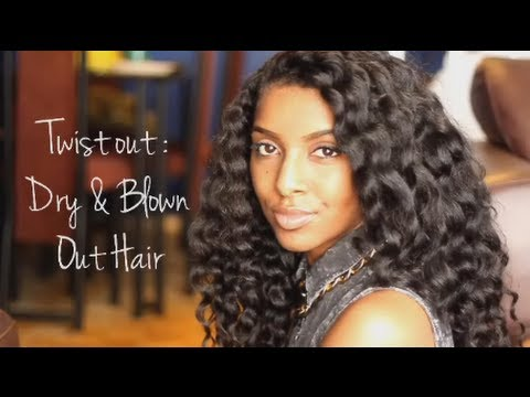 How Twist Natural Hair Twist Out | Natural Hair