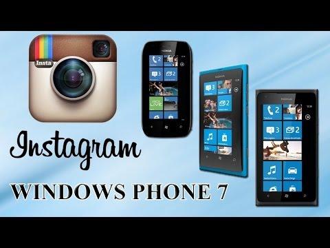 Instagram para Lumia 710 / 800 e 900