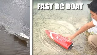 FAST simple 3D PRINTED RC BOAT