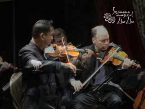 Alexander String Quartet: J.S. Bach Fugue in E-flat Maj, BWV 876