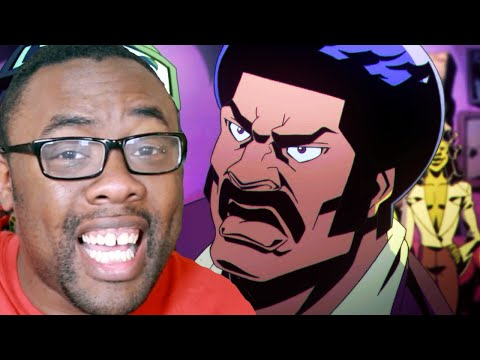 BLACK DYNAMITE vs. BLACK NERD and... EVIL GRIMACE??