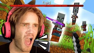 I got RAIDED in Minecraft!!! - Part 8
