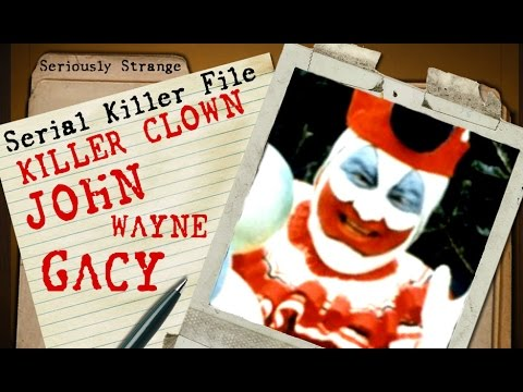 KILLER CLOWN - John Wayne Gacy | SERIAL KILLER FILES #8