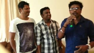 Vodafone comedy star Nelson & Rajesh with Rafi Pattazhi & Shamsudeen Nellara