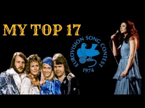 Eurovision 1974 - My Top 17