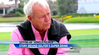 How Golfer Arnold Palmer became a Drink to an Entire Generation