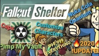 How to get Unlimited resources in Fallout Shelter - 2020 UPDATED VERSION