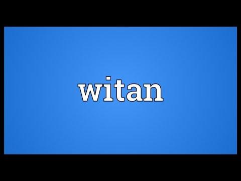 Header of witan