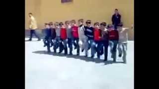 raghs kordi  رقص کردی گروهی بسیار زیبا  بچه ها مدرسه