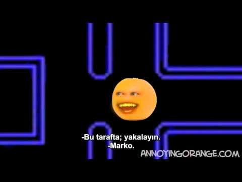 Gıcık Portakal Pacman – Çılgın Portakal oyunu