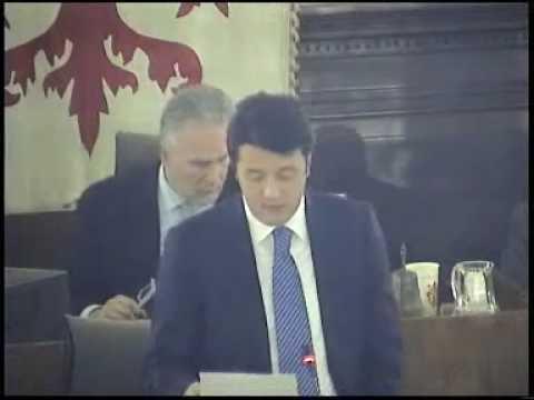 Matteo Renzi descrive i termini della convenzione con la Fiorentina