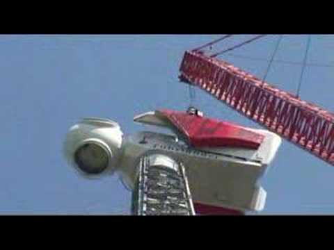 The worlds highest wind turbine FL 2500