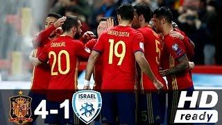 ישראל נגד ספרד(4-1) | תקציר שלם(HD)