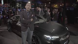 Audi e-tron GT Concept - First Video Walkaround live from LA