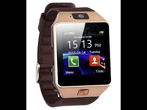 Relógio Inteligente DZ09 Smart-Watch DZ09 Comprado no Aliexpress