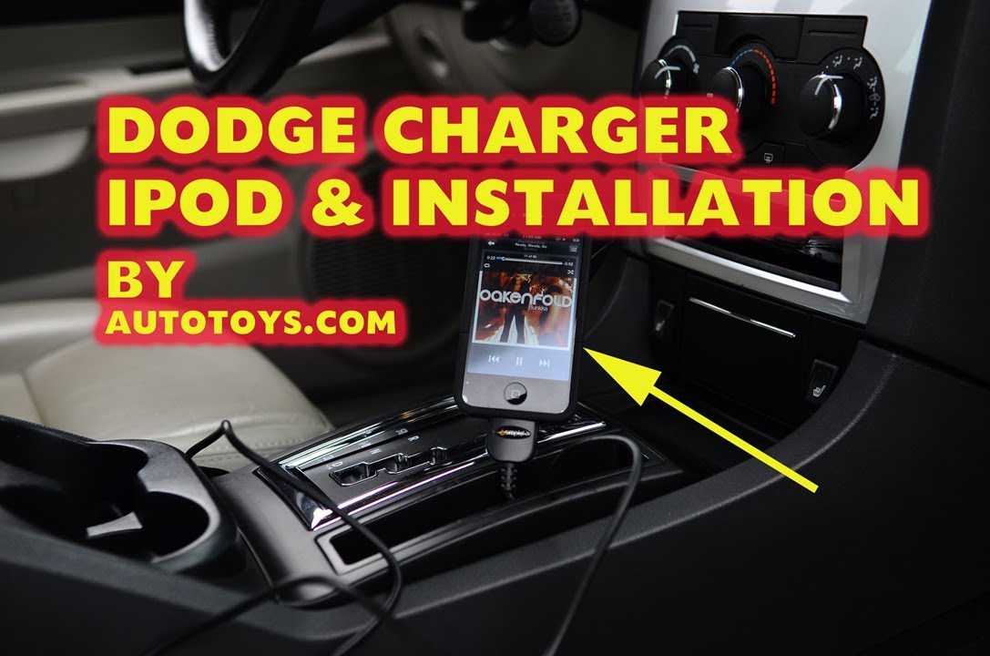 Dodge Charger Ipod Mp3 Aux With Isimple Isch73