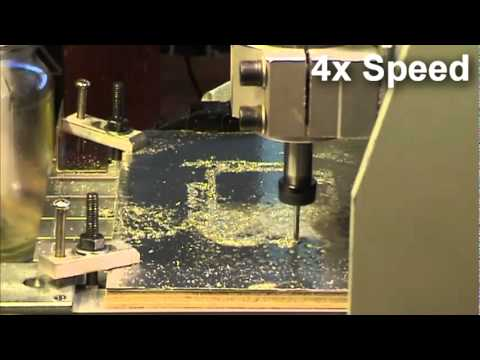 3020 CNC Cutting Aluminium