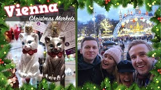 CHRISTMAS MARKETS IN VIENNA! | CHRIS & EVE
