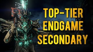 Warframe: TOP-TIER ENDGAME SECONDARY | RATTLEGUTS KITGUN