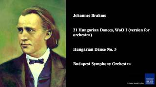 Johannes Brahms 21 Hungarian Dances Woo 1 Version For Orchestra Hungarian Dance No 5