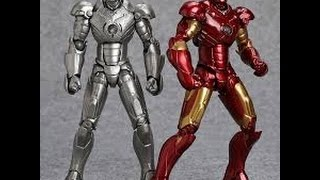 NGOBAR : Review Revoltech Ironman Mark 2 & Mark 3 Bootleg ver.