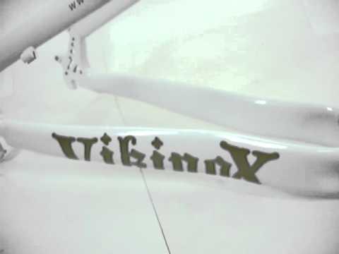 Quadro Viking X Warrior Aero X-29 Branco