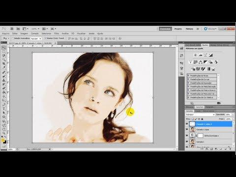 Como transformar foto em desenho no Photoshop