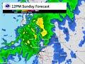 Precipitation Forecast for December 19 - 20, 2015