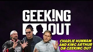 CHARLIE HUNNAM AND KING ARTHUR ON GEEKING OUT
