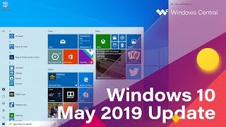 Windows 10 April 2019 Update - Official Release Demo