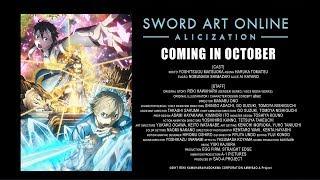 Sword Art Online ?Alicization? PV #1