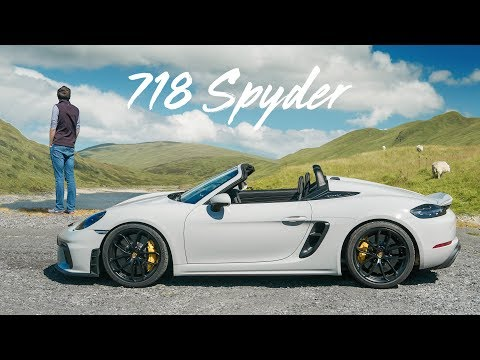 NEW Porsche 718 Spyder: Road Review Of The Topless GT4 | Carfection 4K