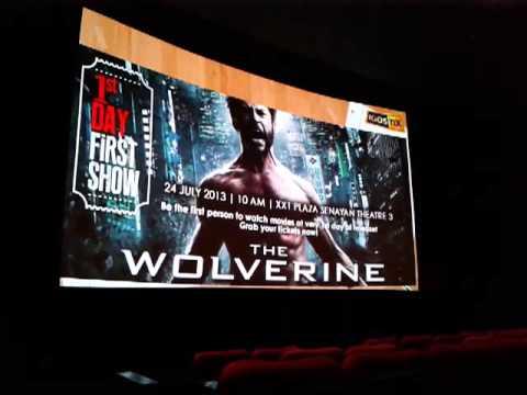 Opening Premier 1stdayshow The Wolverine 3D by Jakarta Globe & KiOSTiX