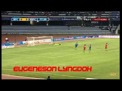 Hero I-League 2015 Bengaluru FC (1) vs Kalyani Bharat FC (0) 8-2-2015