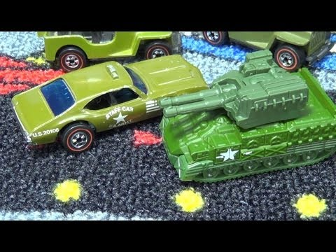 Opening Hatch? Various Military Models (Hot Wheels, Matchbox, Tonka)