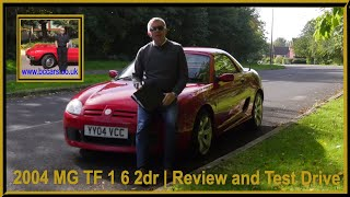 Review and Virtual Video Test Drive In Our 2004 MG TF 1 6 2dr YY04VCC Pic21