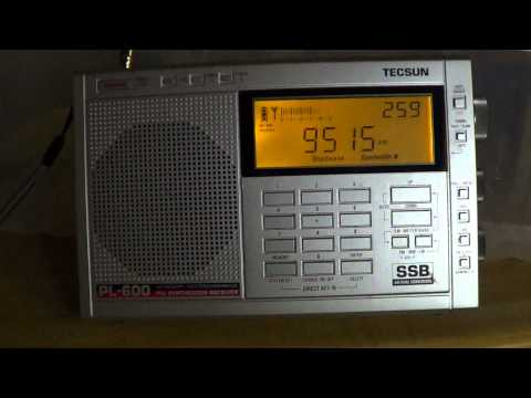 Voice of Turkey interval signal on Tecsun PL-600