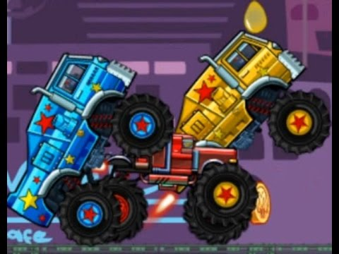 Best of Monster Trucks For Children. Cars for kids. MONSTER TRUCK RACING compilations