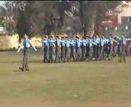 Republic Day Parade at SPI. Aurangabad...PART 1