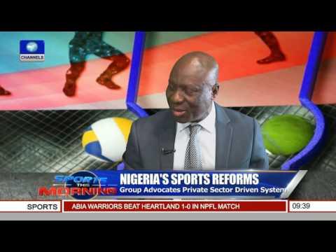 Sports This Morning: Godwin Kienka Speaks On Nigeria's Sports Reforms