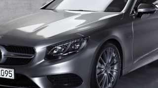 Mercedes Classe S Coupé MY 2014, il design