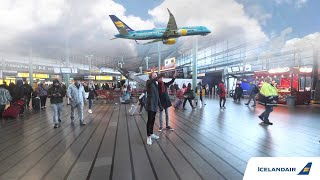 Augmented Reality Stopover at Amsterdam Schiphol Airport   Icelandair