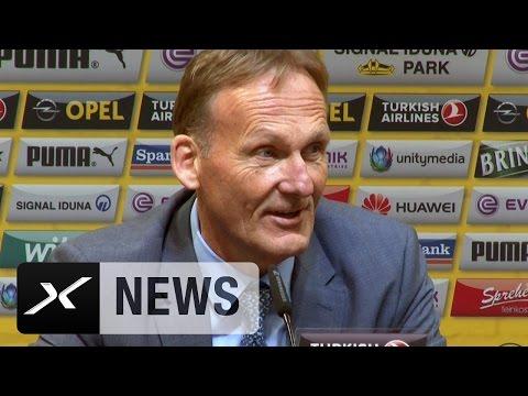 """Hans-Joachim Watzke: """"Nur drei Dortmunder? Muss dem DFB gut gehen""""   Kadernominierung DFB-Team"""